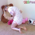 Here's a really cute video for you! Amanda's crawling around and playing on the floor, sucking on her pacifier & sporting a really cute onesie! She plays with & tosses around […]