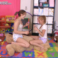Ohhhh…the strange & perverted things these two baby girls do to this teddy bear! Super cute video!
